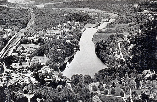 Reinbek - altes Luftbild