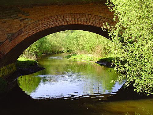 Reinbek Fluss Bille