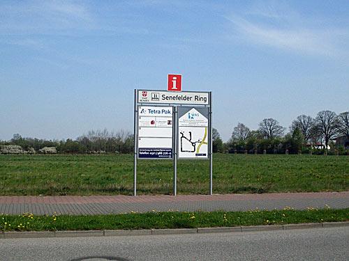 Reinbek Gewerbegebiet Senefelder Ring