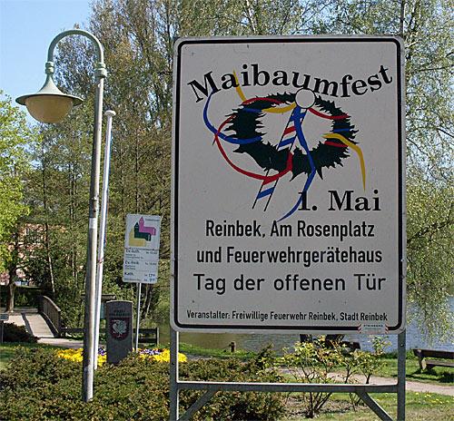 Reinbek Maibaumfest