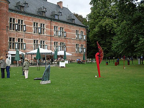 Kunstausstellung beim Schloß Reinbek