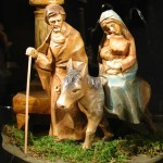 Maria und Josef mit Jesus