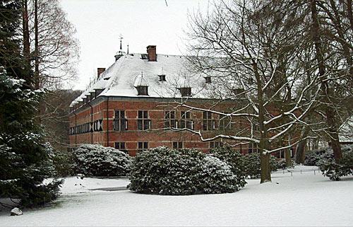 Schloss Reinbek im Winter