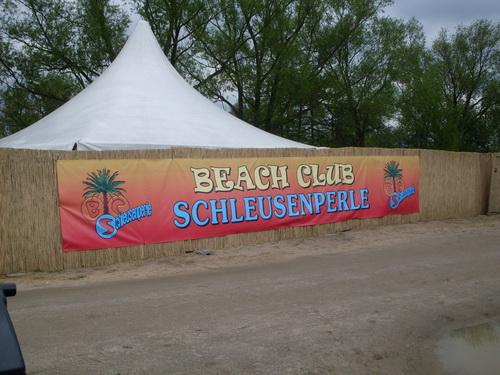 Beachclub-Schleusenperle