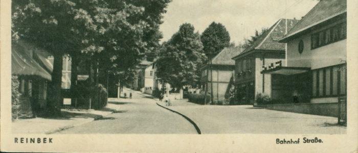 Reinbek Bahnhofstrasse 1940