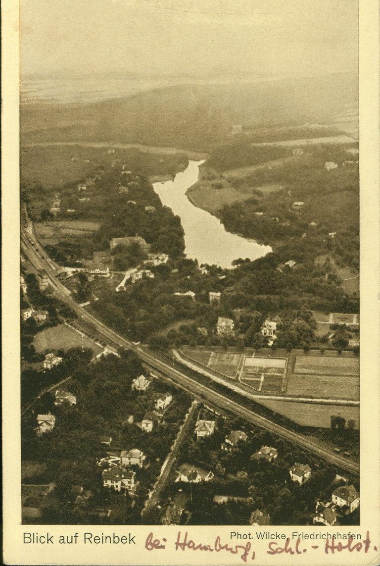 Reinbek Luftbild Zeppelin 1905