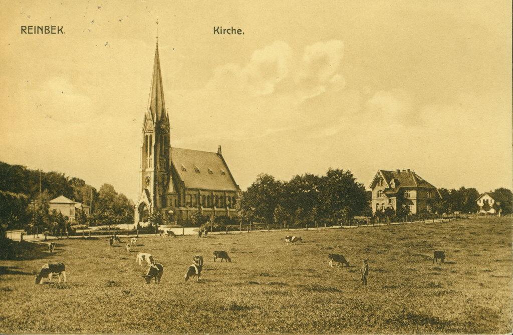 Reinbek alte Bilder 1913