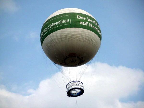 Heissluftballon Hamburg