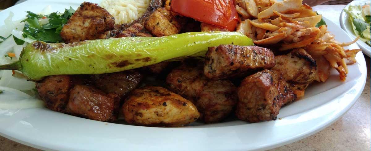 Grillteller bei Mr. Kebab