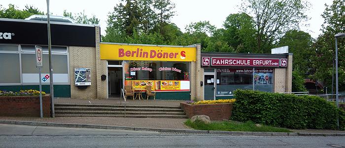 Berlin Döner und Fahrschule am Bahnhof