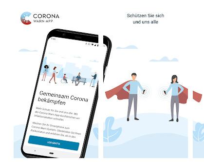Corona-Warn-App der Bundesregierung