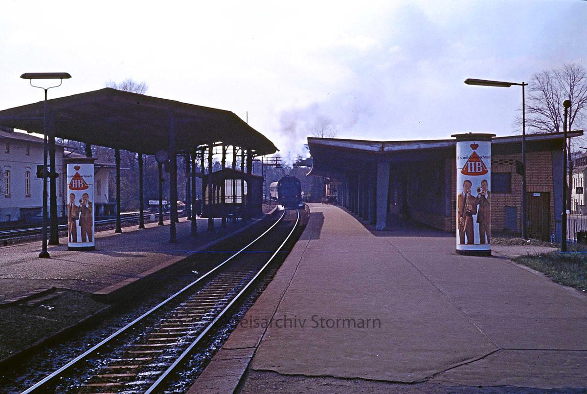 Bahnhof Reinbek 1967