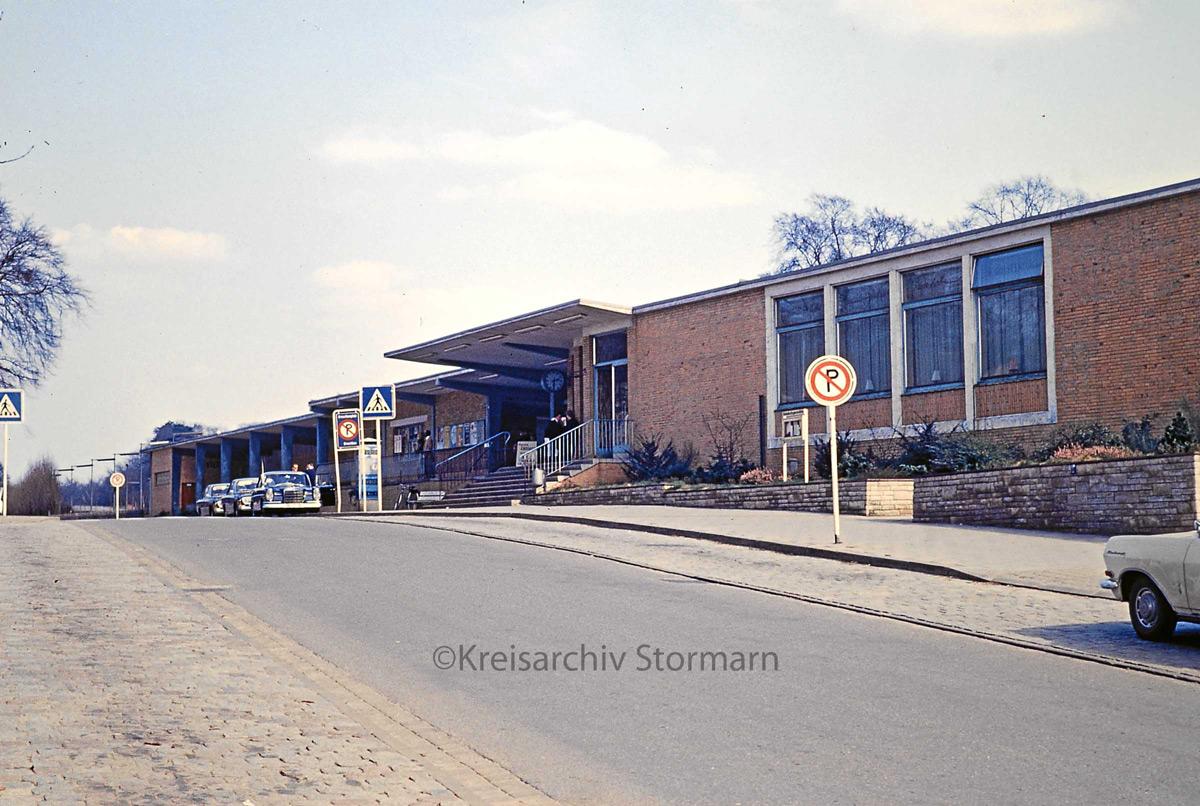 Bahnhof Reinbek 60er Jahre