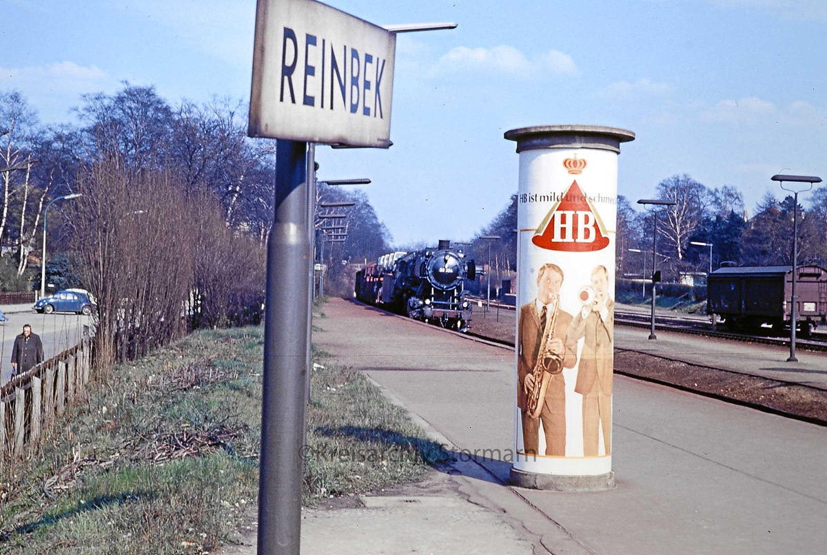 Reinbeker Bahnhof 60er Jahre